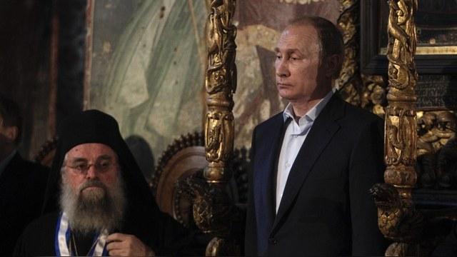 Der Spiegel: Атонските монаси предпочетоха Путин пред собствения си президент
