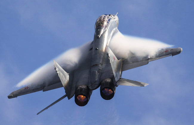 МиГ-35 ще влезе на въоръжение в руските войски през 2018 г.