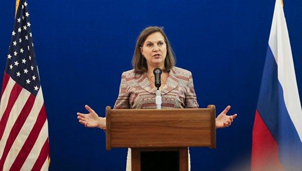 """Виктория Нюланд: САЩ """"работят активно"""" над удължаването на санкциите на ЕС срещу Русия"""