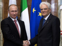 Путин разчита на развитието на партньорството с Италия за укрепването на стабилността в Европа
