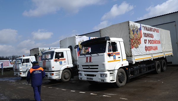Русия ще доставя хуманитарна помощ на Донбас толкова, колкото е необходимо