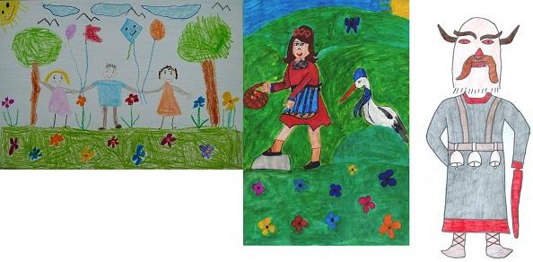 """Седми международен конкурс  за детска рисунка  """"ОБИЧАМ МОЯТА РОДИНА"""" – Финален кръг"""
