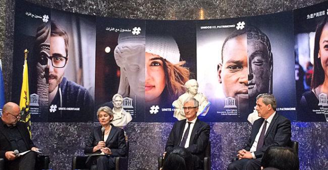 Ирина Бокова и премиерът на Фландрия: Културата е източник на мир