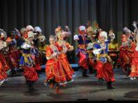 Държавният ансамбъл за танци «Урал» в България