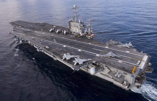 WSJ: Прехвърлянето на американския самолетоносач Harry Truman в Средиземно море е предупреждение за Русия