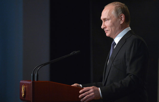 В поздравителната си телеграма до Тереза Мей Путин потвърди нагласата на Кремъл за конструктивен диалог
