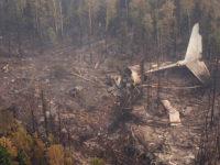 Откриха телата на всички членове на екипажа на разбилия се в Иркутска област Ил-76