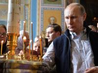Путин призова вярващите да се молят за загиналите в Сирия руски военни
