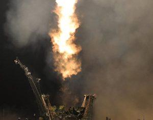 """Първият космически кораб от новата серия """"Союз МС"""" се отправи към МКС"""