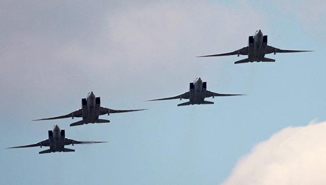 Шест Ту-22М3, излетели от Русия, нанесоха удари по позициите на терористите в Сирия