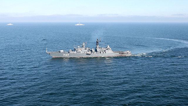 """САЩ твърдят, че руската фрегата """"Ярослав Мъдри"""" се е приближила опасно близо и до друг американски кораб"""