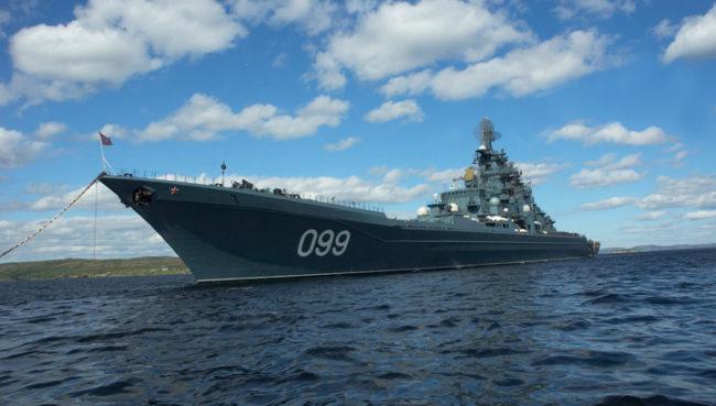 Русия работи над нов атомен ескадрен миненосец