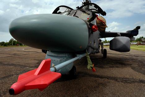 В Сирия Русия ще проведе изпитания на най-новите корабни хеликоптери
