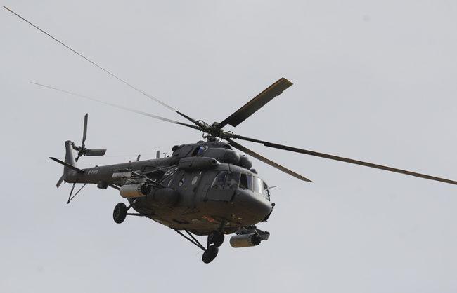 """Генщабът на ВС на Русия: Ми-8 в Сирия е свален в район, контролиран от """"Джебхат ан-Нусра"""""""