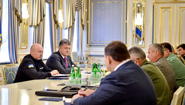 Порошенко поиска разговор с Путин, Туск, Меркел, Оланд и Байдън