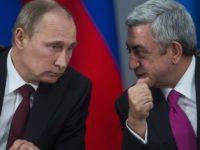 Путин и Саркисян ще проведат преговори в Москва