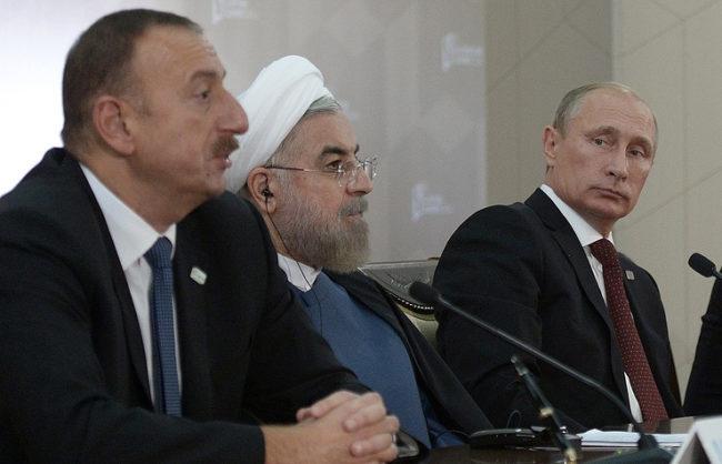 Путин ще се срещне с президентите на Азербайджан и Иран в Баку