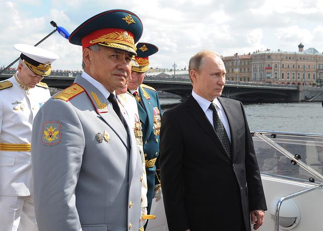Русия отбеляза Деня на военноморския флот