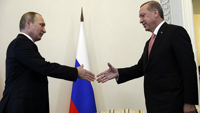 Путин: Русия и Турция искат възобновяване на двустранните отношения