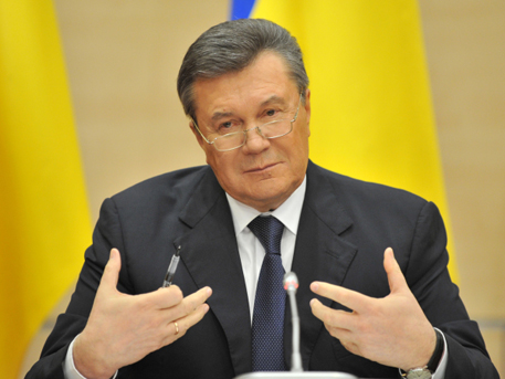 Украинците определиха Янукович за най-добър президент на страната