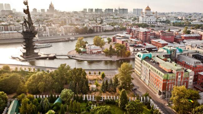 Невиждани порои в Москва