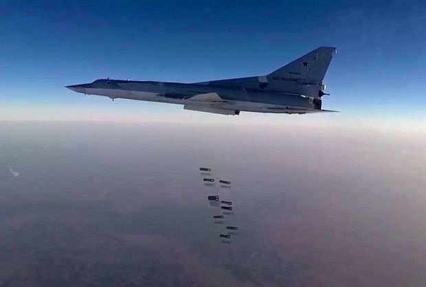 Руски бомбардировачи нанесоха удари в Сирия