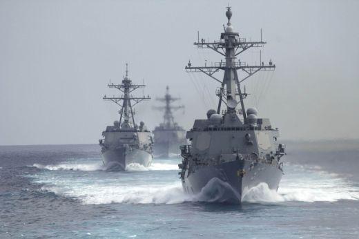 Какво се крие зад изпращането на руски кораби в Южнокитайско море