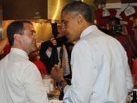 Медведев и Обама разговаряха в Лаос