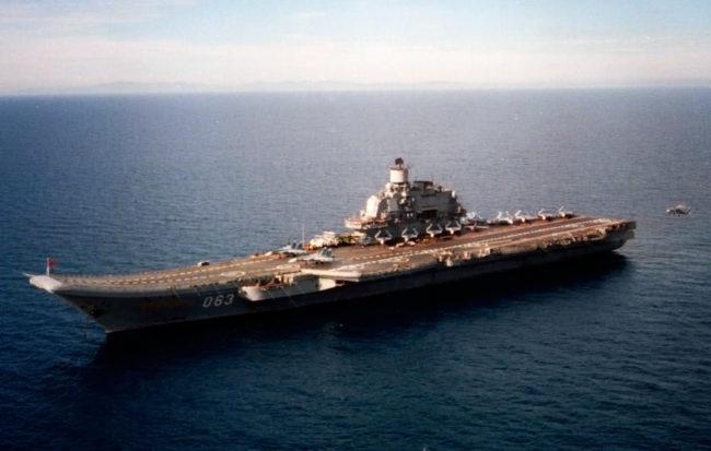 Руснаците изпращат огромен самолетоносач край бреговете на Сирия