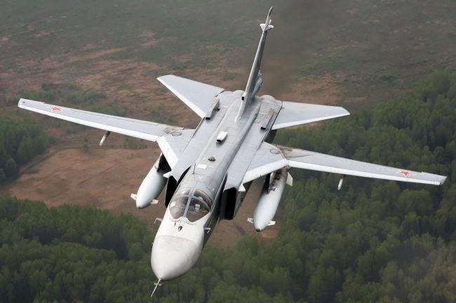 Изтребители на морската авиация на Русия ликвидираха самолети на условен враг
