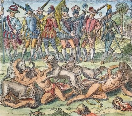 Не американци, а руснаци избивали индианци