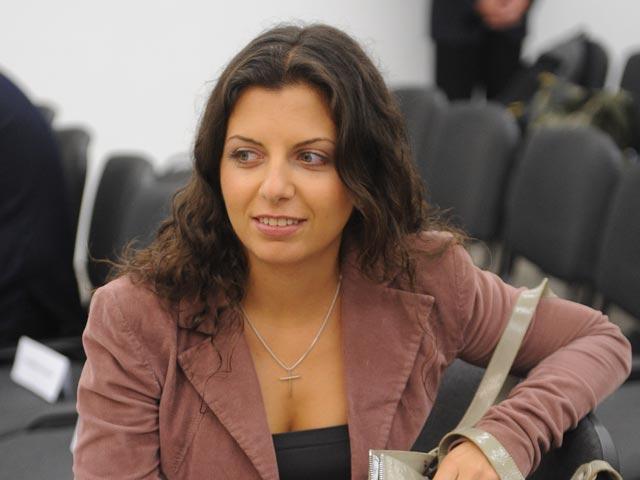 Главният редактор на информационната агенция Маргарита Симонян.