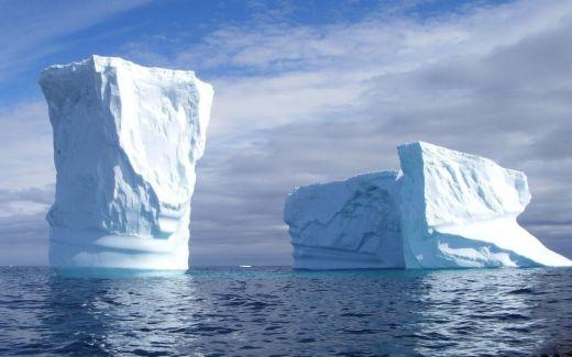 В Русия разработиха технология за управление на айсберги