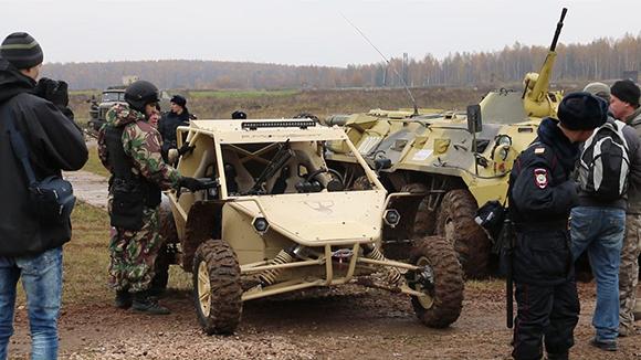 """Руските спецчасти ще се возят на уникално бъги от """"Чеченавто"""""""