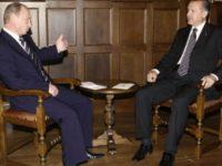 Среща Путин-Ердоган на 10 октомври в Турция