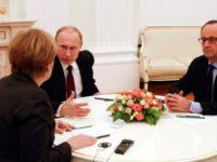 Тристранна среща между Германия, Франция и Русия за ситуацията в Близкия изток