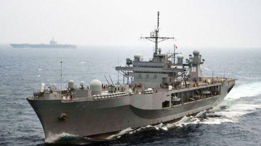 Напрежението в Черно море расте: Руснаците засякоха и следят флагмана на 6-и американски флот