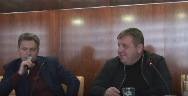 Среща на Красимир Каракачанов с актива на НД Русофили