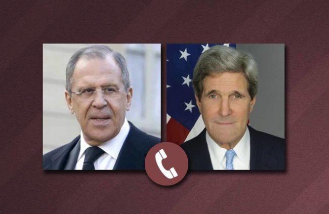Лавров и Кери обсъдиха по телефона конфликта в Сирия