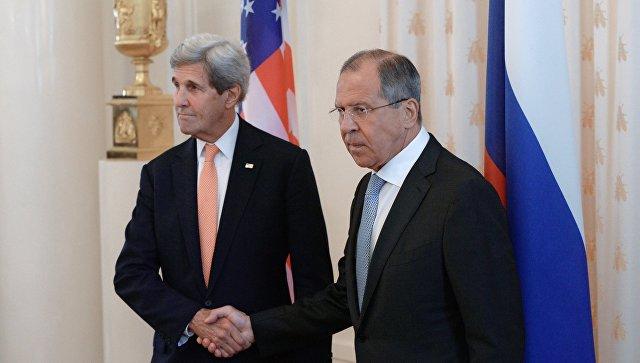 Лавров обясни на Кери защо Русия нанася удари по Идлиб и Хомс