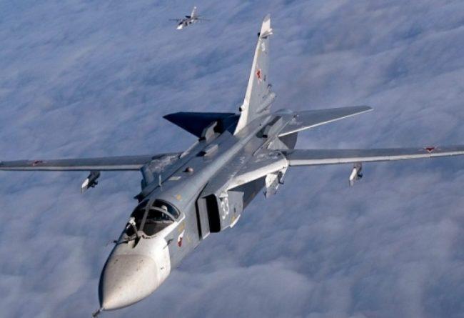 Въздушните сили на Русия и Сирия нанесоха мощни удари по терористите (ВИДЕО)