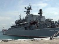 Руски десантен кораб е влязъл в Средиземно море