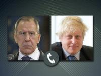 Лавров посочи на Джонсън условията за насрещни мерки от страна на РФ