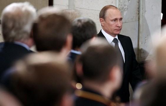 Путин уволни четирима генерали от МВР