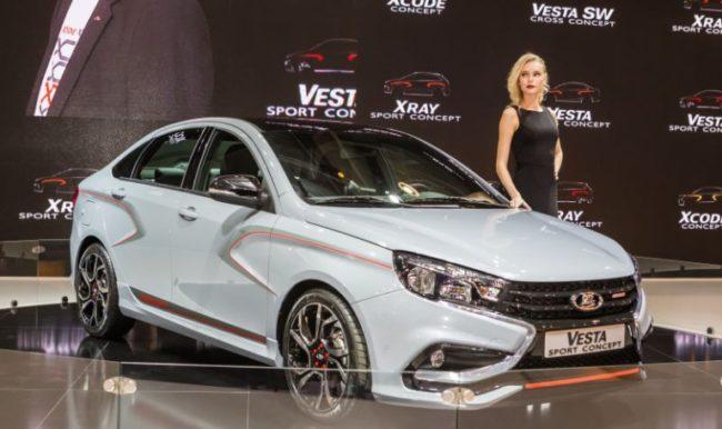Вижте как ще изглежда новото спортно бижу Lada Vesta Sport