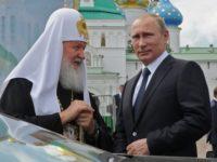 Путин допусна, че е възможно да е кръстен от бащата на патриарх Кирил