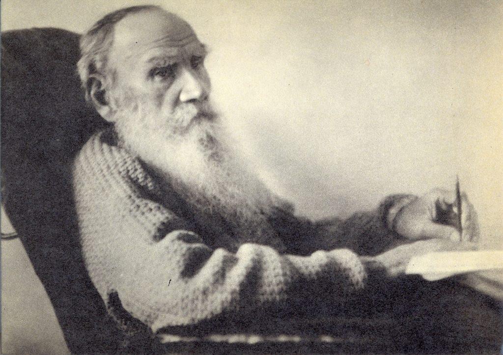 28 август 1908 г., Ясная поляна - Л. Н. Толстой в деня на 80-годишния си юбилей