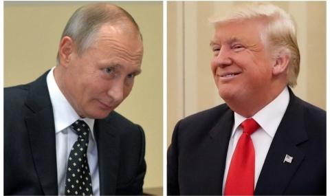 Тръмп потвърдил пред Путин, че иска да нормализира двустранните отношения