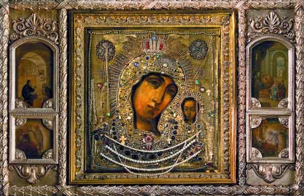Защо иконата на Казанската Богородица е станала символ на руските победи?