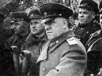 Откриване на паметна плоча на маршал Жуков